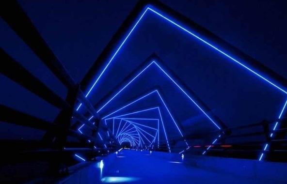 طراحی زیبا و اعجاب انگیز پلی در ایالت آیووا