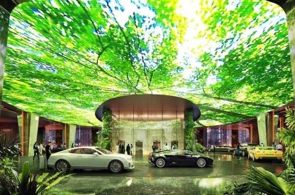 هتلی در دوبی آب و هوای استوایی می سازد