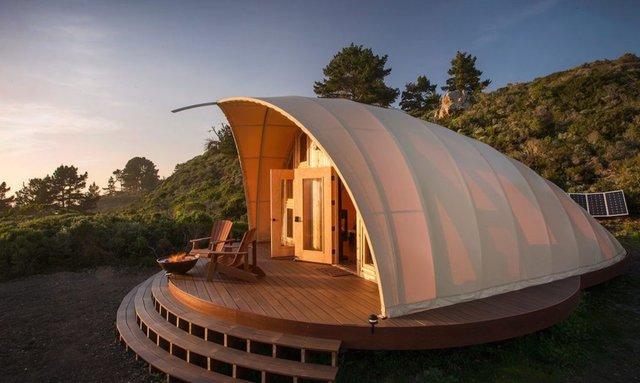طراحی یک چادر مسافرتی با امکانات هتل 5 ستاره