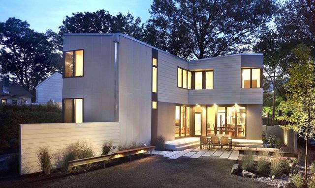 خانه ای که یک روزه بنا می شود+تصاویر