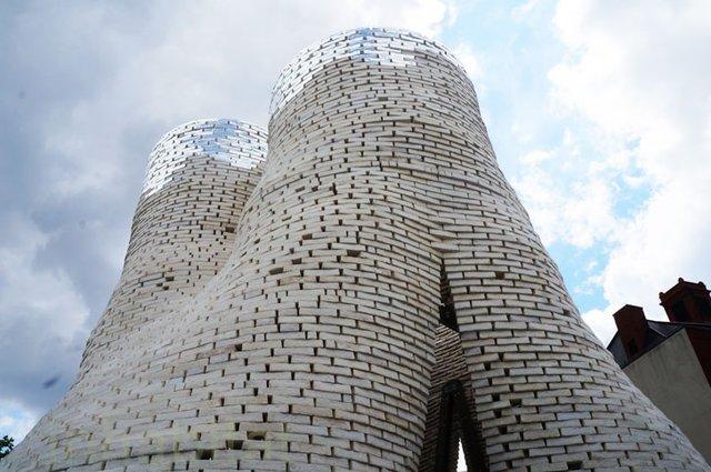 برجی که از قارچ ساخته شده است+عکس