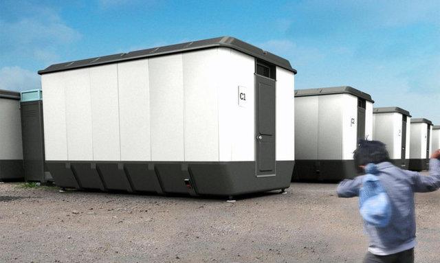 طراحی یک پناهگاه اضطراری قابل حمل