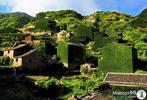 روستایی در چین که با طبیعت یکی شد