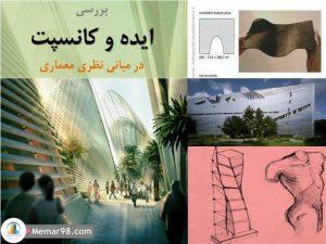 ایده و کانسپت در مبانی نظری معماری