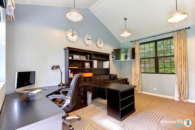 نکات طراحی دکوراسیون اتاق کار در منزل