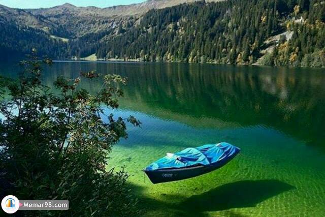 زلالترین دریاچه جهان