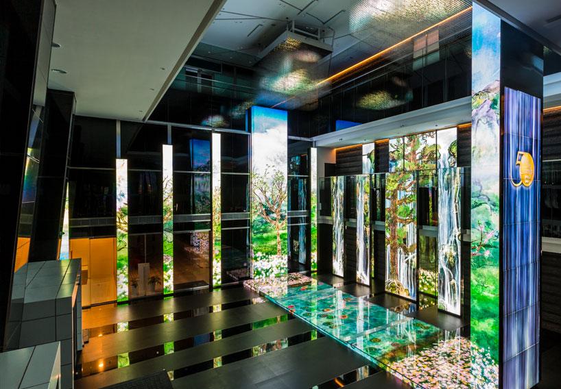 طراحی داخلی بانک CTBC تایپه