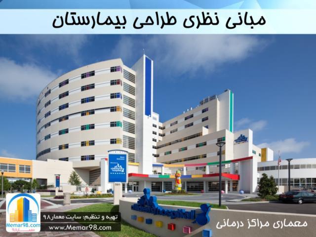 مبانی نظری طراحی بیمارستان