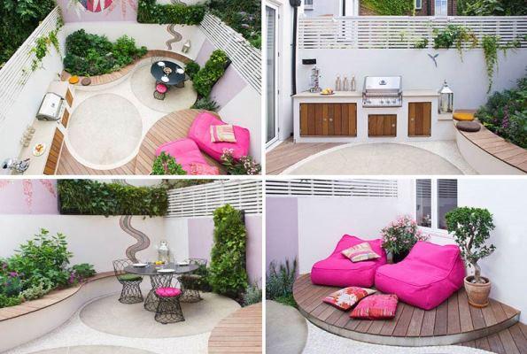 ایده های طراحی حیاط خلوت دنج و دلنشین